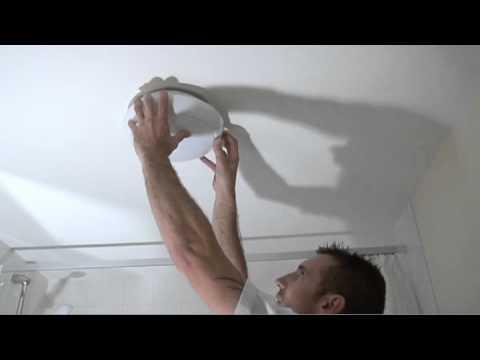 Replacing a 2D Bathroom Light Bulb