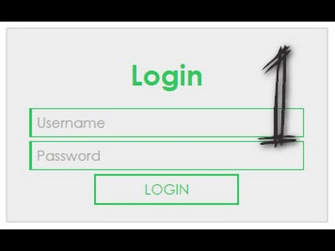 How to create Login page in PHP with Mysql [1/3]