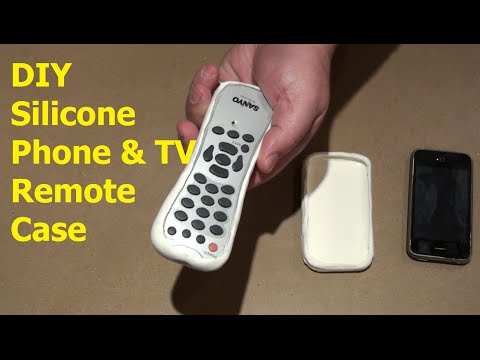 DIY | How To Make a Silicone Phone and TV Remote Control Case | Tutorial