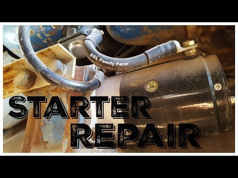1969 Ford 4000/3000 Tractor Starter Repair