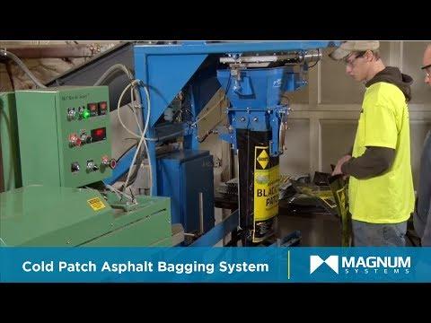 Complete Bagging & Packaging Line for Cold Patch Asphalt