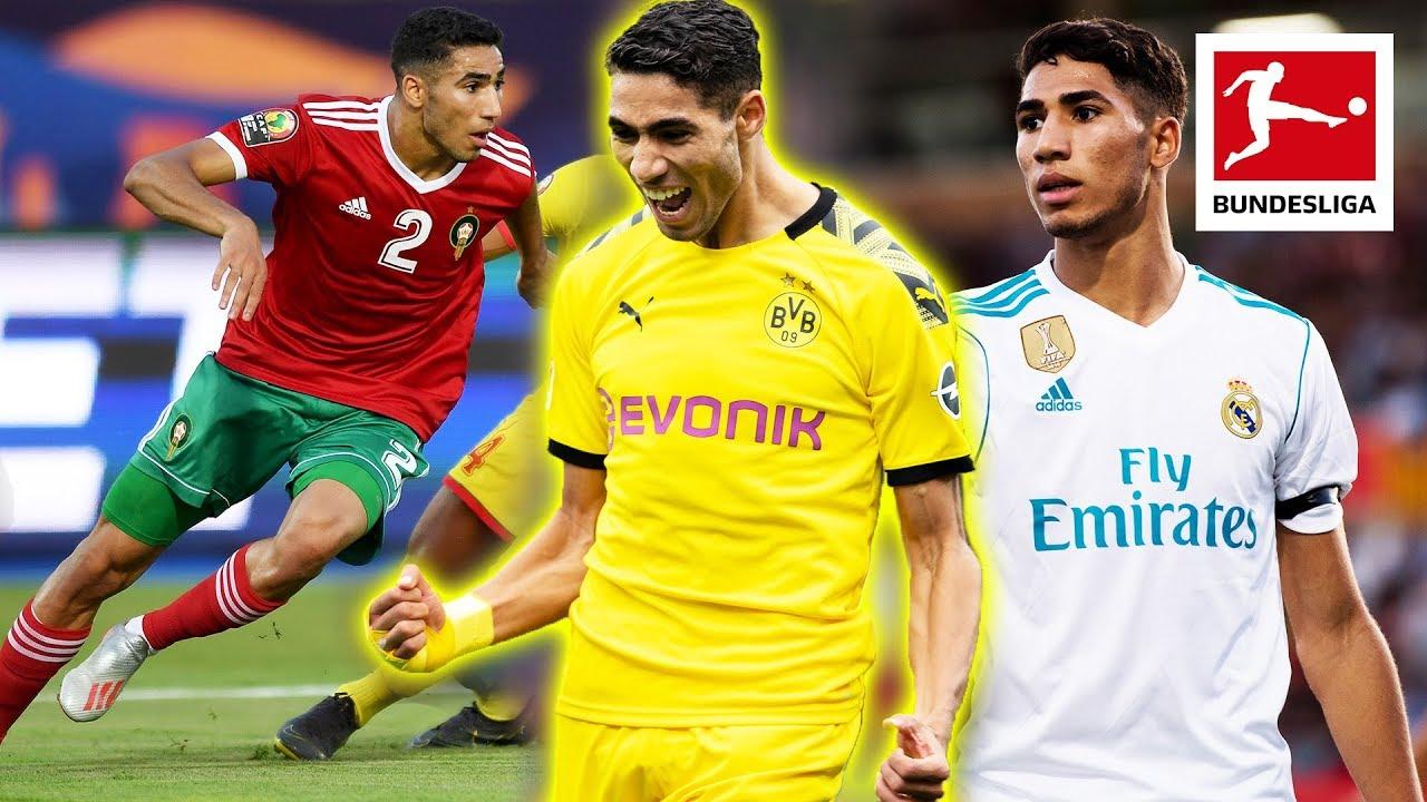 Achraf Hakimi - Bundesliga's Best | Borussia Dortmund's Top Champions League Goalscorer