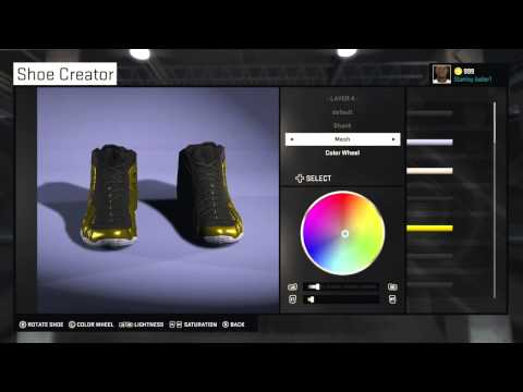 Nba 2k15 shoes customization