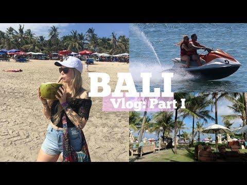 BALI VLOG | Part I ♡ Monkey Temple, Jetski's, Resorts