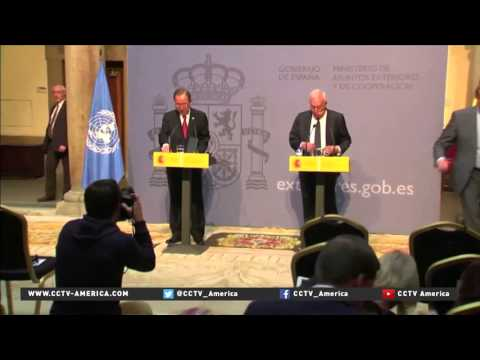 World officials gather for multilateral talks in Vienna