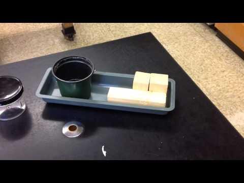 Regular shaped object density