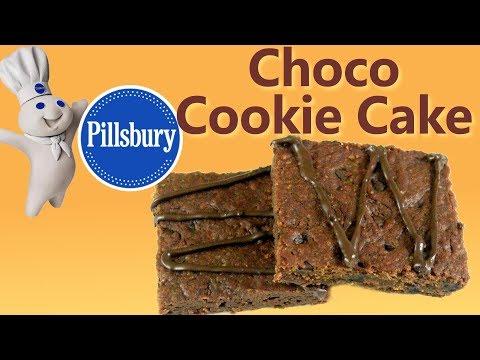 How to make Choco Cookie Cake like Pillsbury at home| Eggless Cookie Cake| Chocolate Cookie Cake
