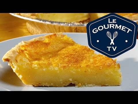How To Make Old Fashioned Buttermilk Chess Pie    Le Gourmet TV Recipes