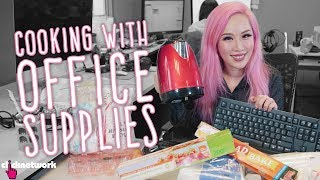 Cooking With Office Supplies - Xiaxue