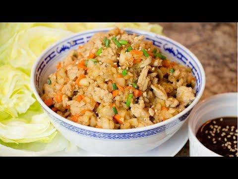 Chicken Lettuce Wraps - Easy Chicken Lettuce Wrap Recipe