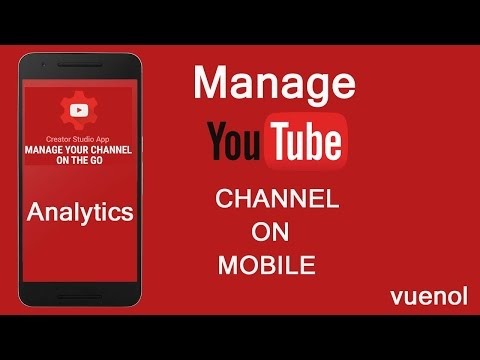 How to check youtube analytics on mobile