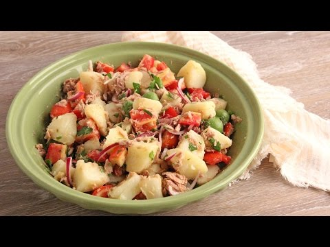 Potato and Tuna Salad Recipe 🍴 Episode 1079