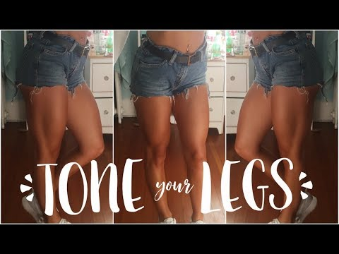 TONING YOUR LEGS || Get Rid Of Cellulite
