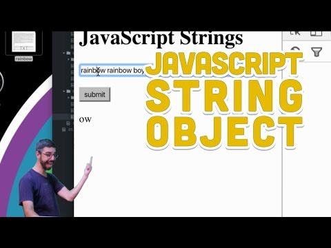 1.5: JavaScript String Object - Programming with Text