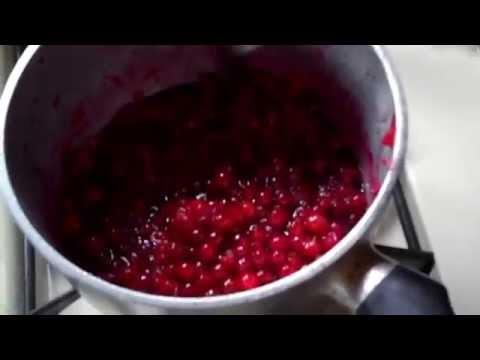 Making squashberry jam newfoundland