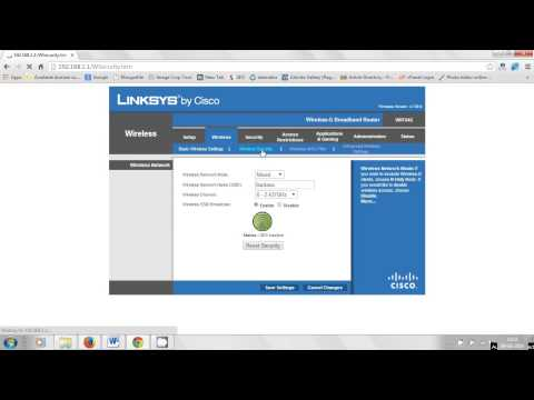 How to see who is connected on your Linksys Wireless BroadBand Router