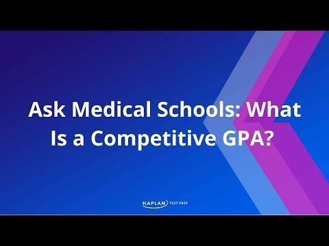 Ask Medical Schools: What is a Competitive GPA?