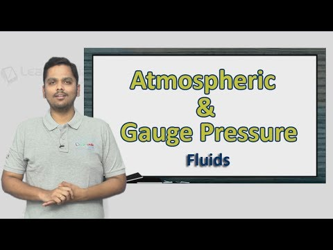 Atmospheric and Gauge Pressure explained in a simple manner with an actual 2017 NEET Question