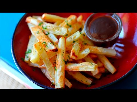 Crispy Oven Baked Fries - Vegan / Low Fat