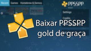 baixar ppsspp gold