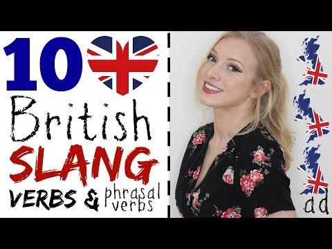 10 BRITISH SLANG VERBS & PHRASAL VERBS | Lingoda Language Marathon (€567 refund!!!) #Spon