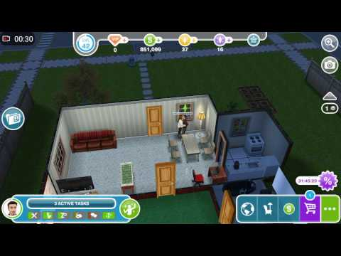 Sims Freeplay - Proposing Marriage