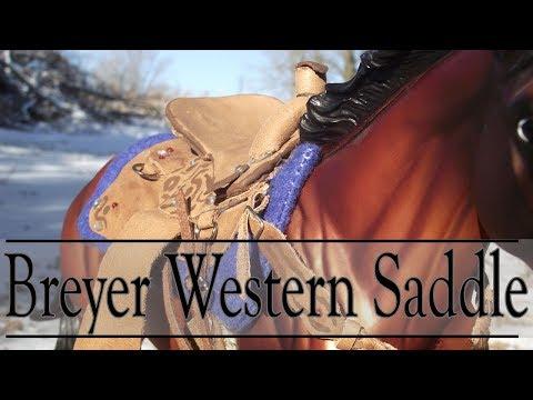 How To Make A Breyer Western Saddle