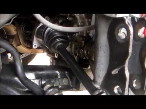 2009 NISSAN ROGUE CV AXLE REPLACEMENT
