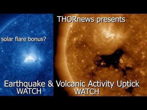 Big Earth facing Coronal Hole = Earthquake & Volcanic Activity uptick WATCH!