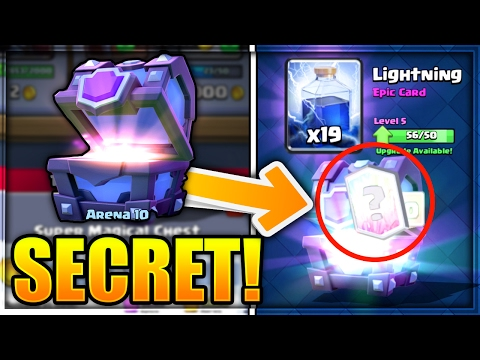 KNOW WHEN YOU'RE GETTING A LEGENDARY CARD! | NEW SECRET in Clash Royale!