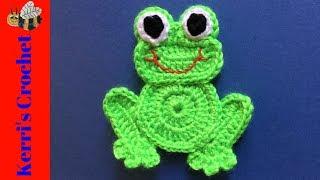 Rana hecha a crochet - YouTube | 180x320