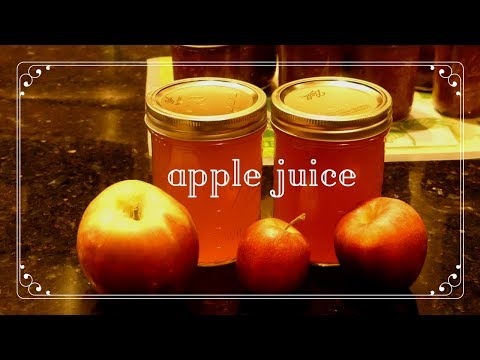 Canning Apple Juice