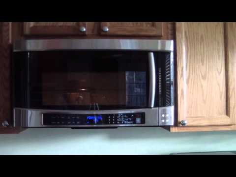 SAMSUNG MICROWAVE SMH9207ST 1100W 2.0 cu. ft. Over-the-Range Microwave (Stainless Steel)