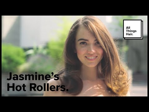 How to use hot rollers   All Things Hair