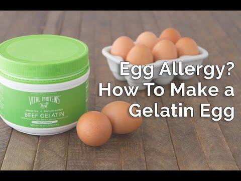 How To Make an Egg-Free Gelatin Egg