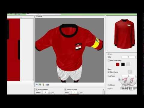 How to change a team Kits in FIFA 12 - كيفيه تغير الأطقم فى فيفا 12.flv