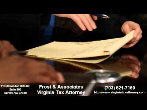 Frost Associates Virginia Tax Attorney | (703) 621-7169