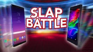 Galaxy Note 8 Vs Razer Phone Slap Battle!! WHO WILL WIN?!