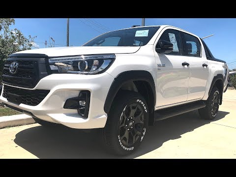 2018 Toyota Hilux Rocco SUV the most popular affordable Pickup