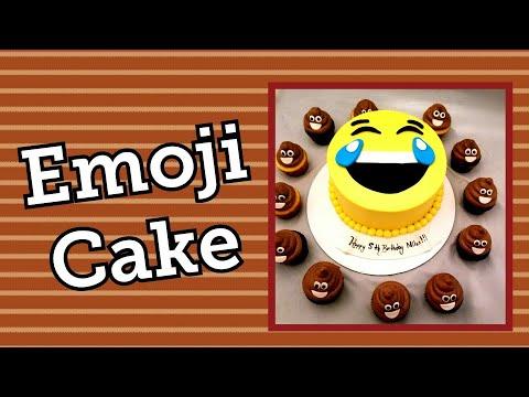 Saludando Y Pastelendo Emoji Cake En Vivo🤣🤣
