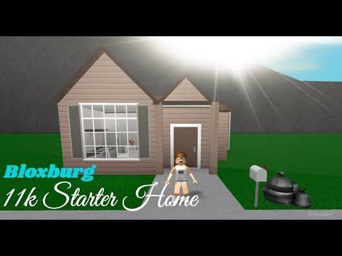 ROBLOX | Welcome to Bloxburg: 11k Starter Home Speedbuild