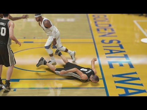 NBA 2K14 My Career - Got Parker Leaning S2CFG2 PS4