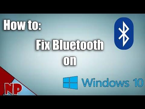 How To Fix Bluetooth Problem On Windows 10 [2017 Tut]
