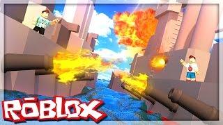 Roblox Adventures - DENIS VS. CORL BATTLESHIP WAR! (Roblox Battleship War)