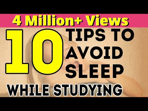 10 Tips To Avoid Sleep While Studying | Exam Tips For Students | LetsTute