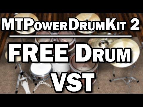 MT Power DrumKit 2 – Free Drum VST