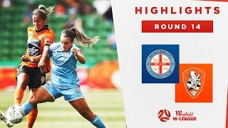 Highlights: Melbourne City v Brisbane Roar – Round 14 Westfield W-League 2019/20 Season