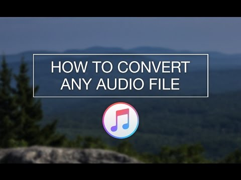 How to Convert Any Audio File (MP3, MP4, WAV, AIFF, and More!)