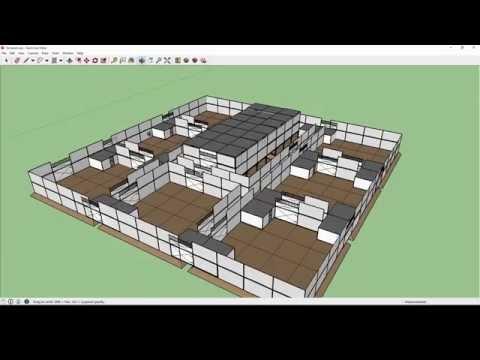 SECURE Base Design for FARMING !!HARD!! [H1Z1] (Sketchup)