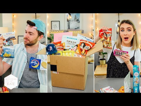 More American Candy from a Subscriber! - In The Kitchen With Kate